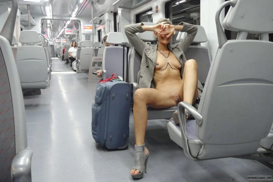 Nude train Train Pics