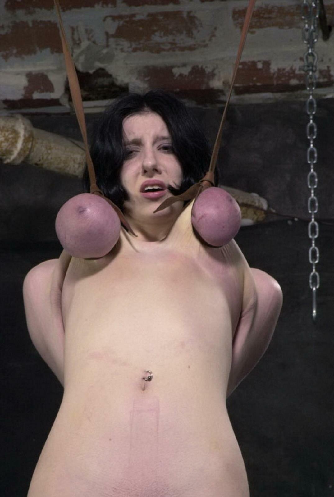 Extreme Tit Hanging